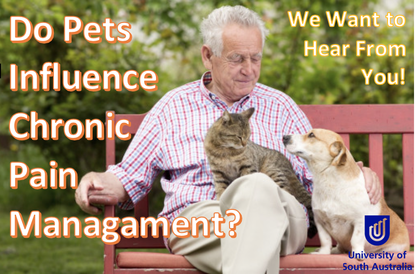 Do pets influence your chronic pain? Study Image request